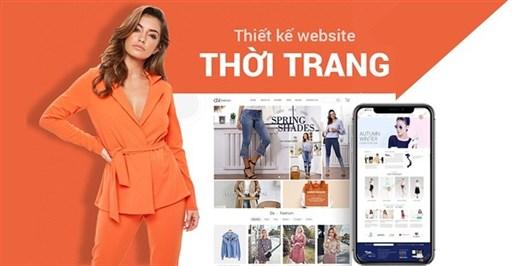 Thiết kế website thời trang chuẩn SEO