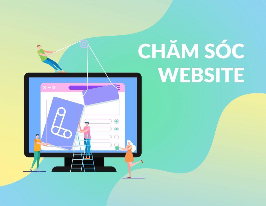 chăm sóc Website tại quận Gò Vấp